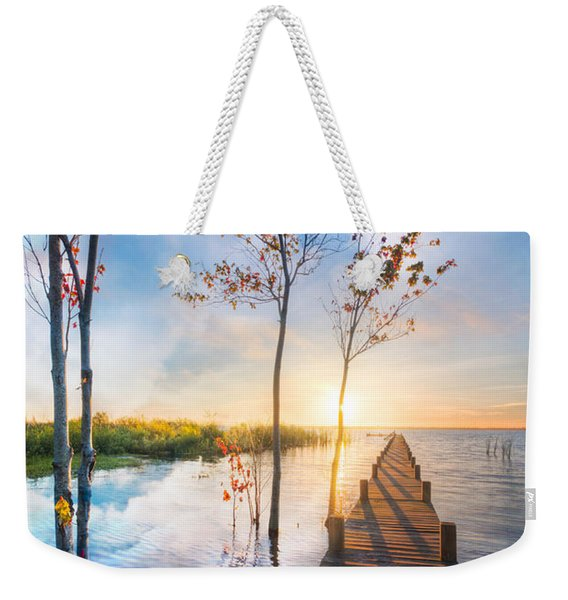 Morning Dreams Weekender Tote Bag
