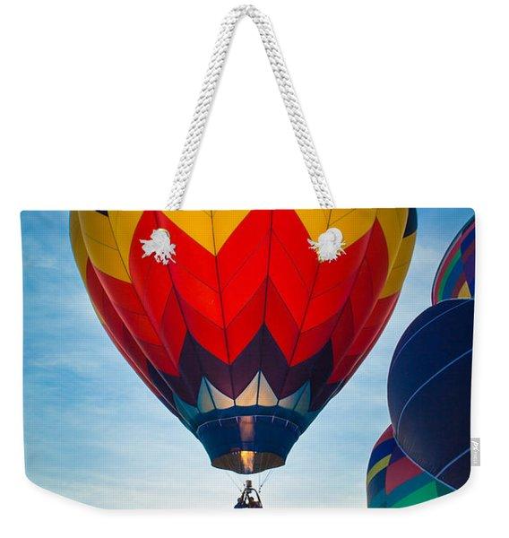 Morning Flight Weekender Tote Bag