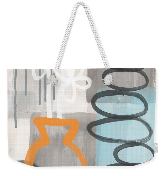 Morning Flowers Weekender Tote Bag