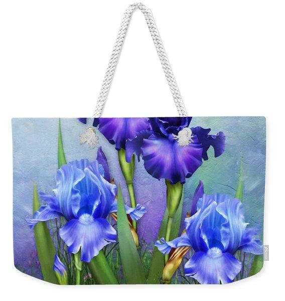 Morning Glory Weekender Tote Bag