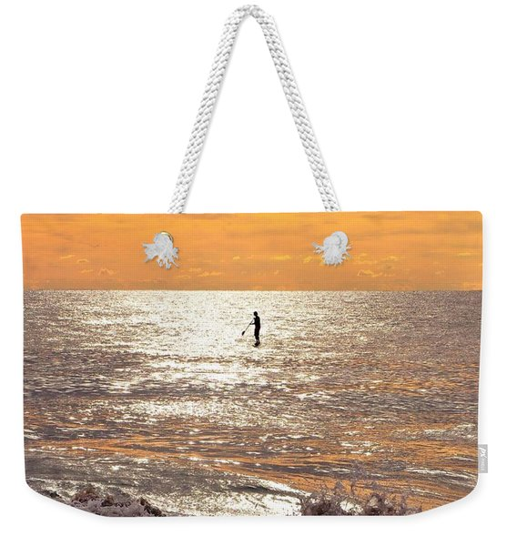 Sunrise Solitude Weekender Tote Bag