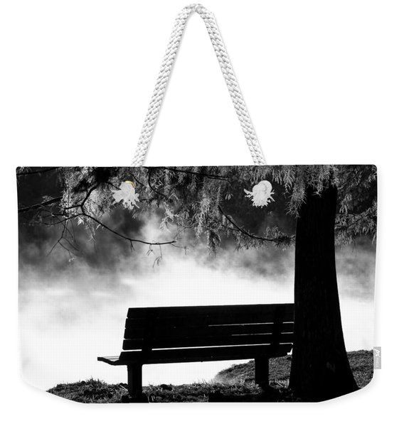Morning Mist At The Spring Weekender Tote Bag