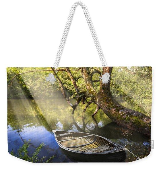 Morning Mists Weekender Tote Bag
