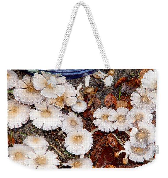 Morning Mushrooms Weekender Tote Bag