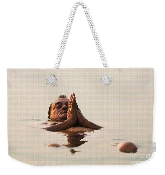 Morning Prayer Weekender Tote Bag