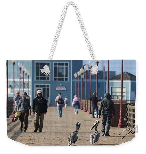 Morning Stroll  Weekender Tote Bag