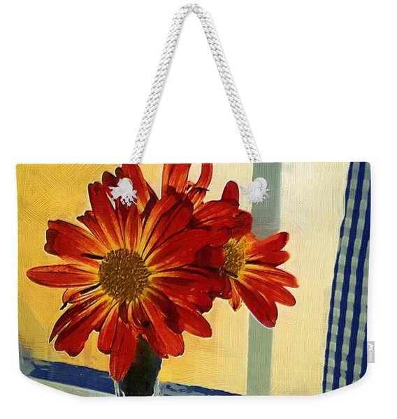Morning Window Weekender Tote Bag
