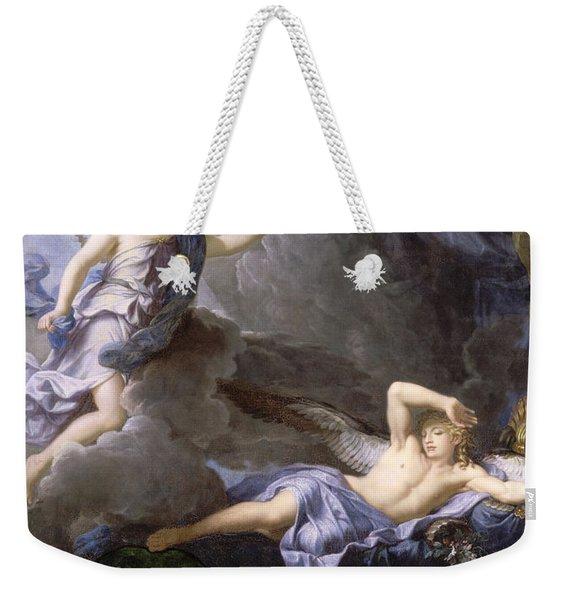 Morpheus Awakening As Iris Draws Near Weekender Tote Bag