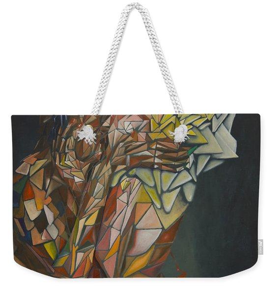 Mosaic Embrace Weekender Tote Bag