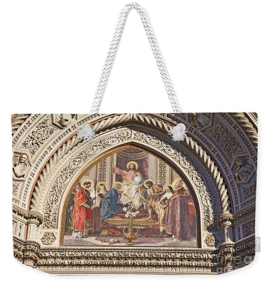 Mosaic Florence Duomo Weekender Tote Bag