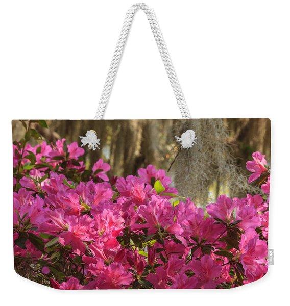 Moss Over Azaleas Weekender Tote Bag