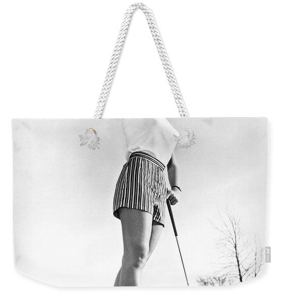 Most Beautiful Golfer Of 1957 Weekender Tote Bag