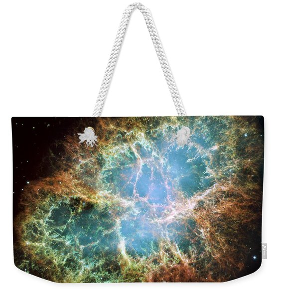 Most Detailed Image Of The Crab Nebula Weekender Tote Bag