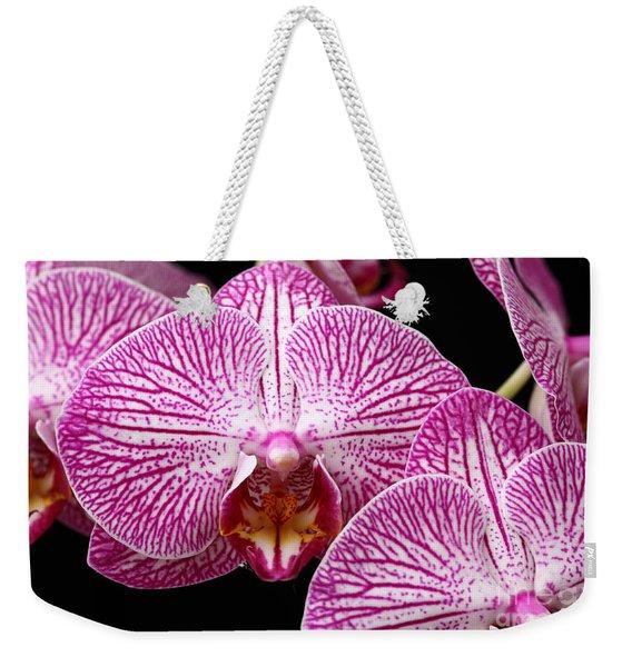 Moth Orchid Weekender Tote Bag