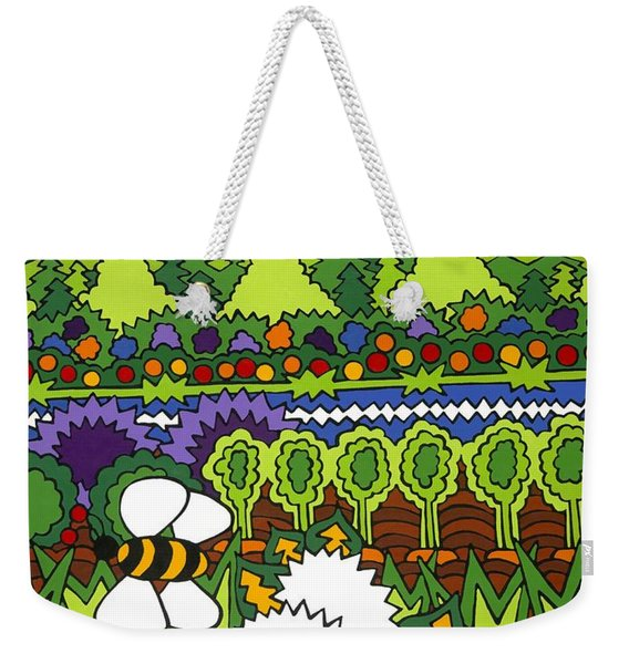 Mother Earth Weekender Tote Bag