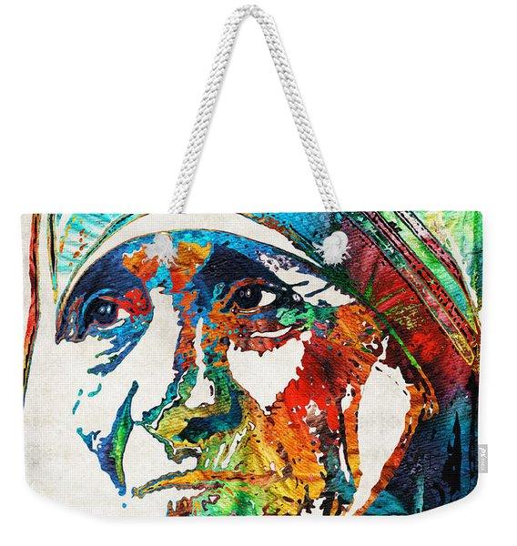 Mother Teresa Tribute By Sharon Cummings Weekender Tote Bag