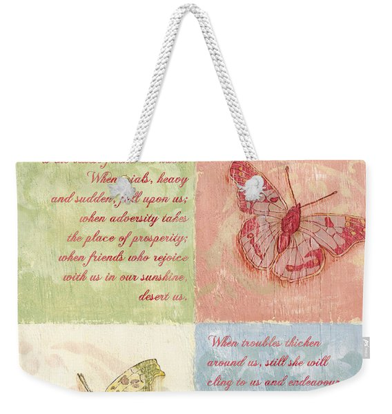 Mother's Day Butterfly Card Weekender Tote Bag