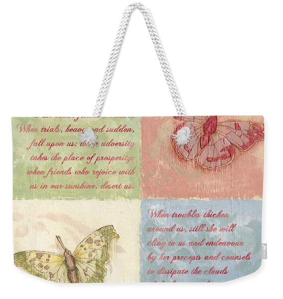 Mothers Day Butterfly Weekender Tote Bag