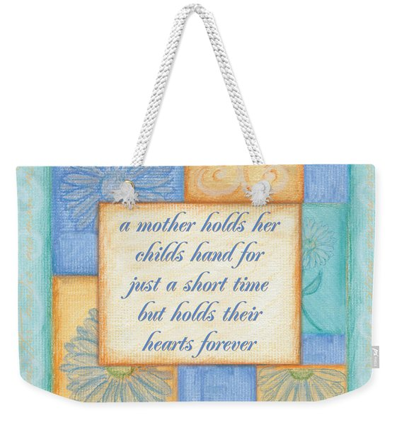 Mother's Day Spa Card Weekender Tote Bag