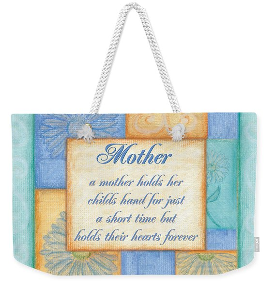 Mother's Day Spa Weekender Tote Bag
