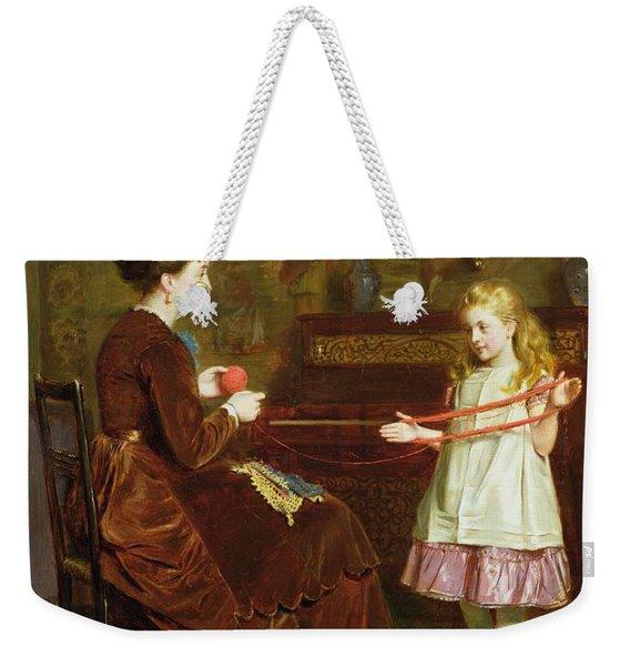Mothers Little Helper Weekender Tote Bag