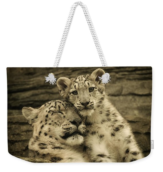 Mother's Love Weekender Tote Bag