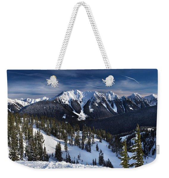 Mount Baker Ski Area Weekender Tote Bag