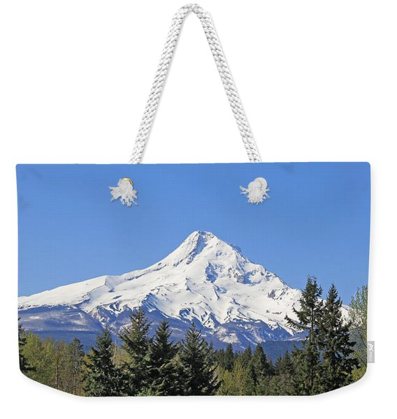 Mount Hood Mountain Oregon Weekender Tote Bag