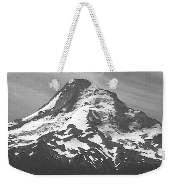 Mount Hood Number One Vertical Weekender Tote Bag