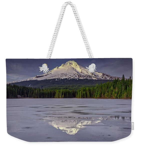 Mount Hood Reflections Weekender Tote Bag