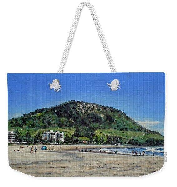 Mount Maunganui Beach 151209 Weekender Tote Bag