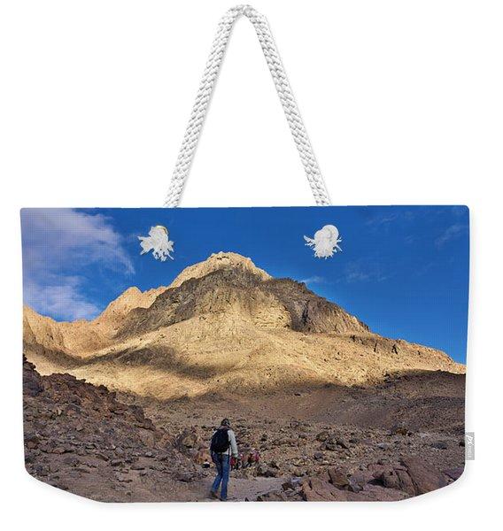 Mount Sinai Weekender Tote Bag