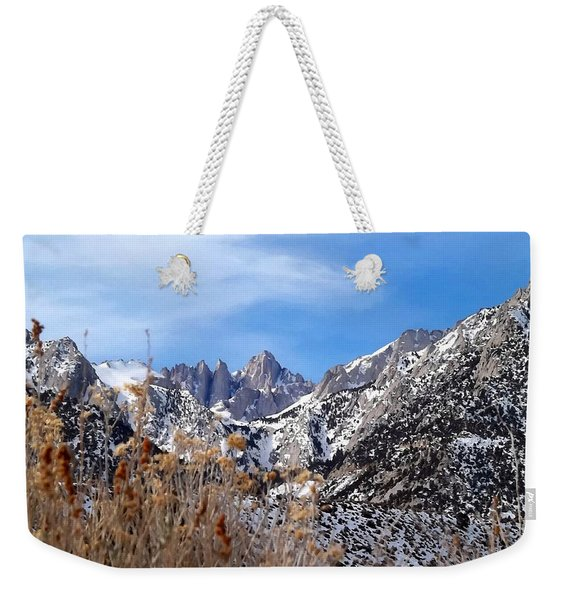 Mount Whitney - California Weekender Tote Bag