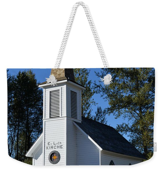 Mountain Chapel Weekender Tote Bag