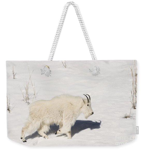 Mountain Goat Stroll Weekender Tote Bag