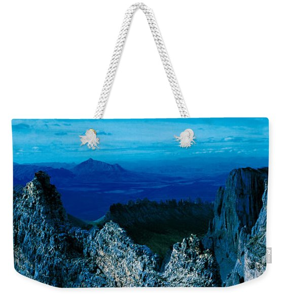 Mountain Goat Yukon Territory Canada Weekender Tote Bag