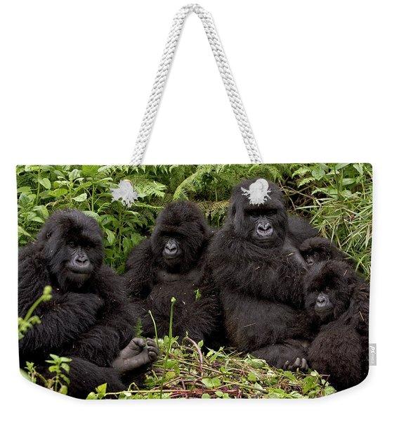 Mountain Gorilla Susa Group Weekender Tote Bag