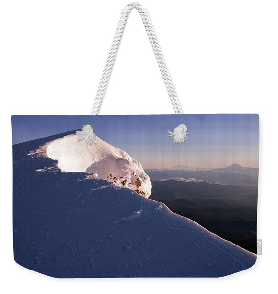 Mountain Landscape Weekender Tote Bag