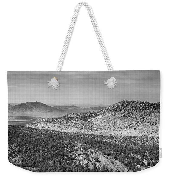 Mountain Views Weekender Tote Bag