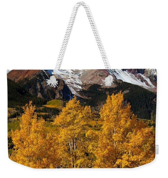 Mountainous Wonders Weekender Tote Bag