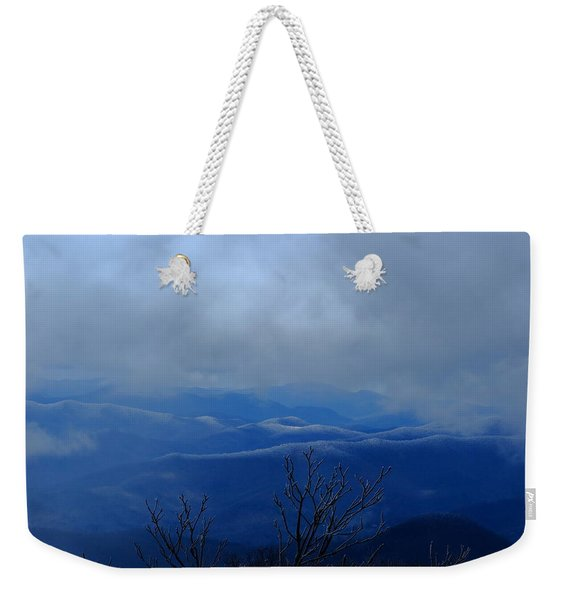 Mountains And Ice Weekender Tote Bag