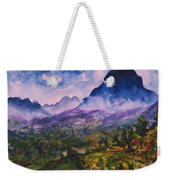 Mountains Of Pyrenees  Weekender Tote Bag
