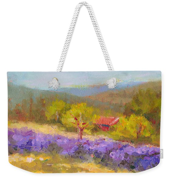 Mountainside Lavender   Weekender Tote Bag