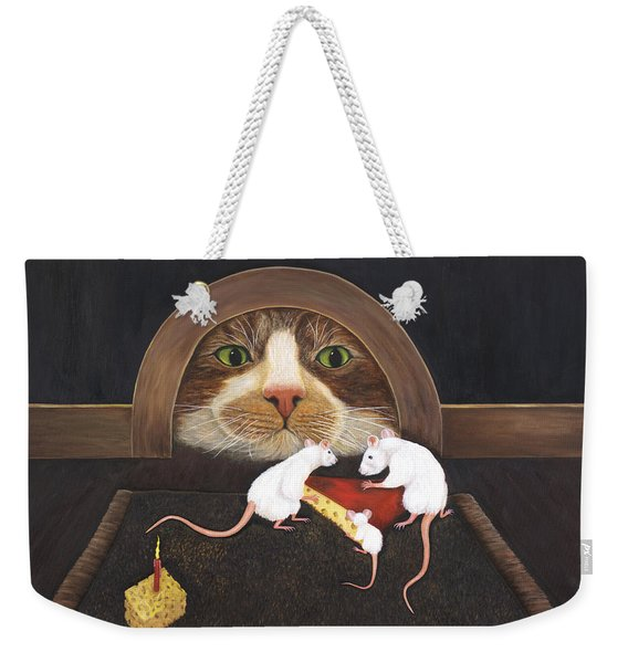Mouse House Weekender Tote Bag
