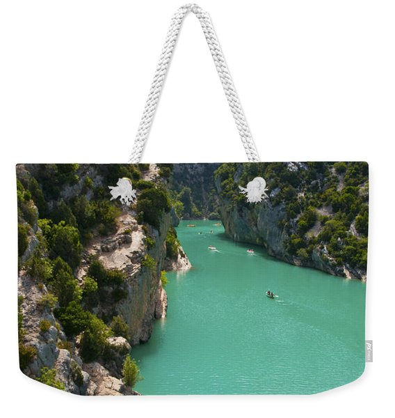 Mouth Of The Verdon River  Weekender Tote Bag