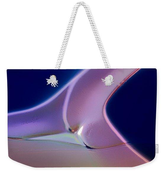 Movement Of Colors Weekender Tote Bag