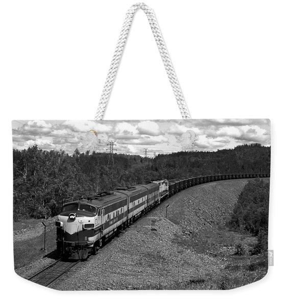 Moving Across America Weekender Tote Bag