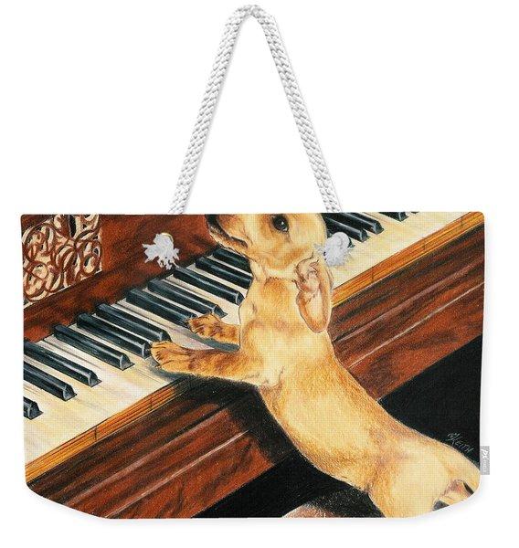 Mozart's Apprentice Weekender Tote Bag
