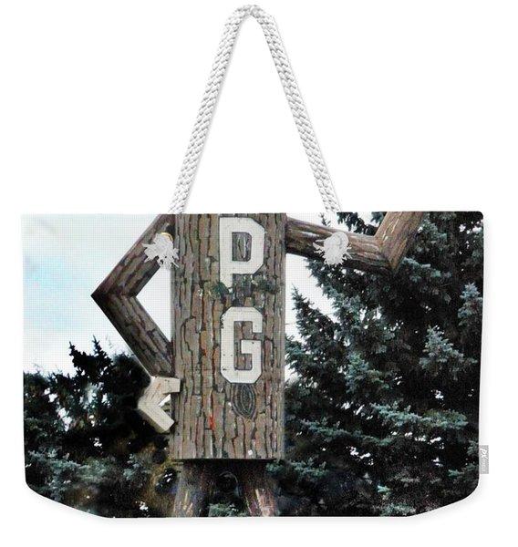 Mr. Pg Weekender Tote Bag