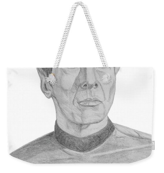 Mr. Spock Weekender Tote Bag
